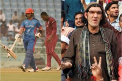 Feet Tall Afghan Cricket Fan Not Get Place To Stay In Lucknow