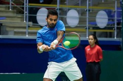 Davis Cup India Take Lead Against Pakistan