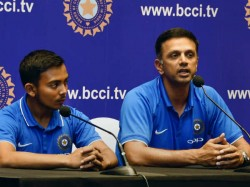 Prithvi Shaw Thanks Dravid And His Father During Ban From Cricket