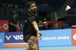 Kidambi Srikanth Enter 2nd Round In Hong Kong Open