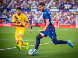 La Liga Football Results Barcelona Stunned By Levante