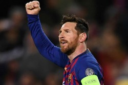 Messi Scores Hat Trick As Barcelona Win