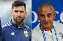 Brazil Boss Tite Claims Lionel Messi