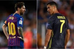 Laliga Hat Trick Lionel Messi Equals Cristiano Ronaldo Record