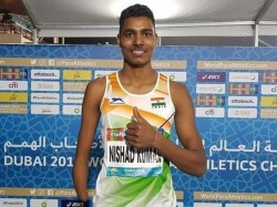 Nishad Kumar Secures Quota For Tokyo Paralympic Games