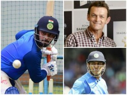 Pant Must Focus On Himself Intead Of Copying Ms Dhoni Says Gilchrist