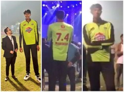 Lahore Qalandar S Spinner Mudassar To Over Shadow Irfan As Tallest Cricketer Ever