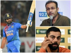 Virender Sehwag Compares Rohit To Sachin Even Kohli Can T Do It