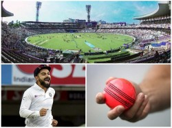 More Than 50000 Spectators Expected At Eden Gardens For India S First Day Night Test