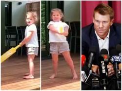 Australian Star Opener Warner S Daughter Wants To Be Virat Kohli