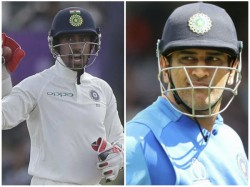 Indian Wicket Keeper Saha Eyes Dhoni S Record In Test Series Against Bangladesh