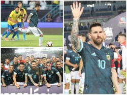 Lionel Messi Ends Seven Years Goal Drought Against Arch Rivals Brazil