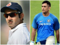 Former Opener Gambhir Blames Dhoni For Getting Dismissed On 97 In 2011 World Cup Final