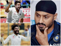Harbhajan Not In Favour Playing Ashwin And Jadeja In Pink Ball Test