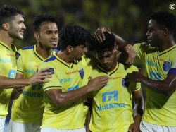 Kerala Blasters Hyderabad Fc Indian Super League Match