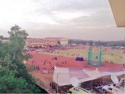 Kerala School Athletic Meet Ernakulam Palakkad Leading