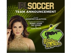 Suuny Leone Enters Ipl Soccer