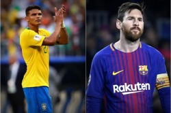 Thiago Silva Says Messi Is A Great Player