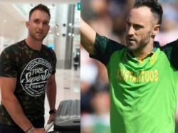 He S Lying In Bed With My Sister Says Faf Du Plessis On His Teammate Missing From Match