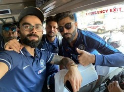 Indian Team Arrives In Chennai For First Odi Against West Indies