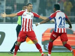 Atk Bengaluru Indian Super League Match In Kolkata