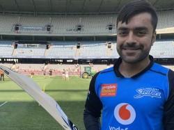 Rashid Khan Introduced Camel Bat In Big Bash League