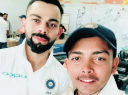 Young Opener Prithvi Shaw Set To Go With Indian Team For Newzealand Tour