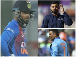 Kohli Furious As Fans Chants Dhoni S Name After Pant Drops Catch