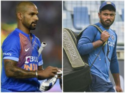 Indian Opener Shikhar Dhawan Likely To Miss Odi Series Against West Indies