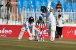 Sri Lanka Pakistan First Test Drawn