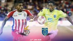 Atk Vs Kerala Blasters Isl Match