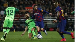 Copa Quarterfinals Del Rey Barcelona Rout Leganes