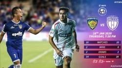 Chennaiyin Fc Vs Northeast United Isl Match