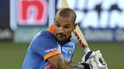 Indian Opener Shikhar Dhawan May Miss Initial Phase Of Ipl