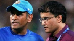 Bcci President Ganguly Refuses To Comment On Dhoni S Ommission From Bcci Contracts