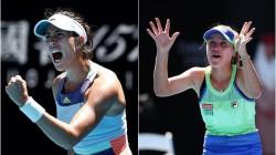Australian Open Garbine Muguruza Sofia Kenin Enter Final