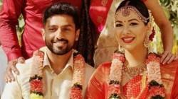 Indian Cricketer Karun Nair Marries Girlfriend Sanaya Tankariwala