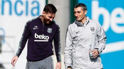 Lionel Messi Message To Coach Valverde