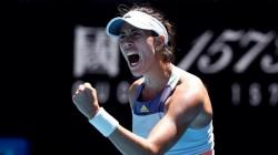 Australian Open Muguruza Halep Enters Semi Final