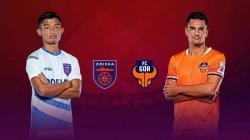 Odisha Fc Vs Fc Goa Isl Match