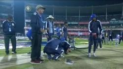India Vs Sri Lanka 1st T20 Damp Pitch