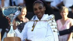Serena Williams Win In Auckland Classic