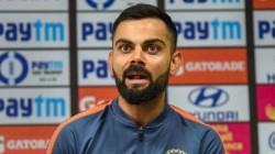 Kohli Fan Viral In Social Media With Unique Hairstyle