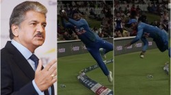 Anand Mahindra Impressed With Sanju Samson Extra Ordinary Catch