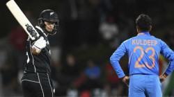 India Newzealand First Odi Match Details Kiwis Won By 4 Wickets