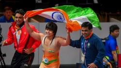 Divya Kakran Won Gold Medal In Asian Wrestling Championships