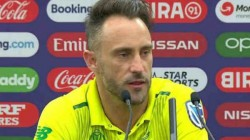 Du Plessis Steps Down As South African Cricket Team Captain