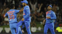 India Newzealand Fifth T 20 Live Match Details India Won By 7 Runs
