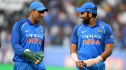 M S Dhoni As Best Captain India Has Seen Rohit Sharma