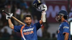 Today Marks Ten Years Since Sachin Made First Double Century In Odis
